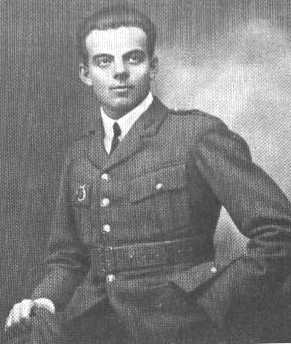 The young author in his WWII uniform