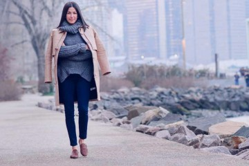 Rebecca Minkoff in Dumbo wearing her SULLIVAN jean