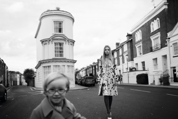 Lottie in London, photo by Sean and Seng, styled by Robbie Spencer