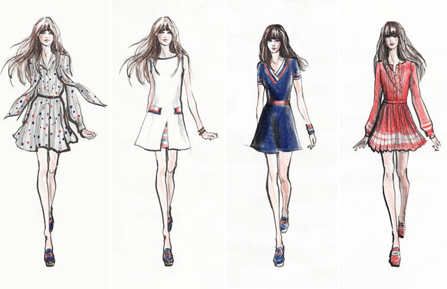 Zooey Deschanel Teams With Tommy Hilfiger On New Collection