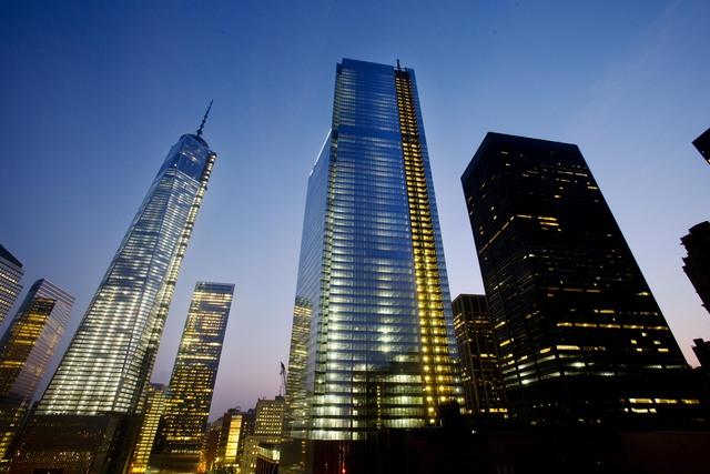 4 Four World Trade Center; One World Trade Center