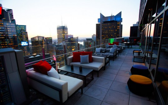 The Hyatt In Time Square Offers High Times At The Rooftop