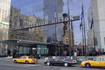 Millenium-Hilton-Entrance