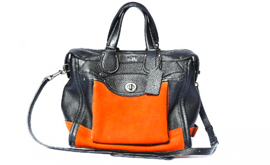 Coach's new Rhyder bag, $350-$1300. Photo via WWD