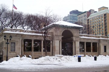 Union Square Park Pavilion