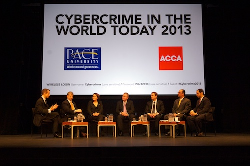 cybercrime event_Panelists seated2