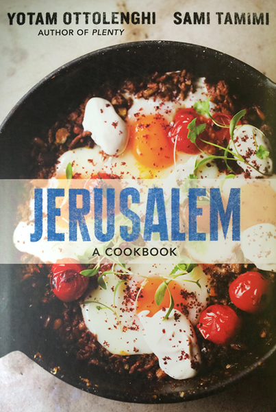 Jerusalem Cookbook Cover Recipe ~ A recipe from jerusalem cookbook downtown magazine nyc