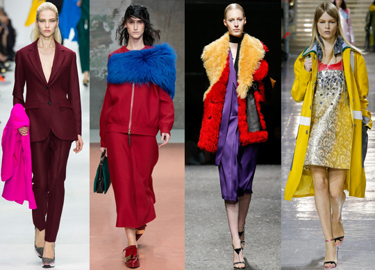 Trends For Fall: Intellectual Color