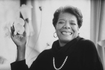 Maya Angelou, author of I Know Why The Caged Bird Sings and many other acclaimed titles.