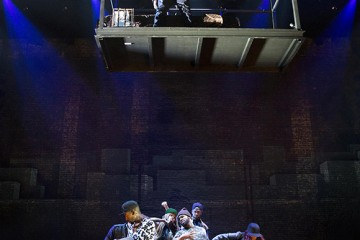 Review of the new Broadway production, Holler if Ya Hear Me.