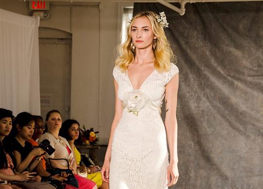 "Claire Pettibone's Fashion Show of ""Romantique"" Wedding Dresses"