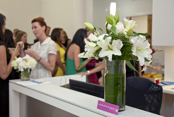 Guests at the opening of RMA of New York downtown clinic.