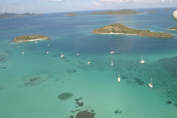 SVG Aerial Shot - Credit St. Vincent and the Grenadines, Tourism Authority1