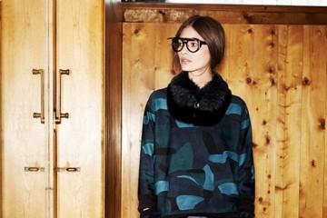 Marine Deleeuw for Louis Vuitton lookbook (Pre-Fall 2014) photo