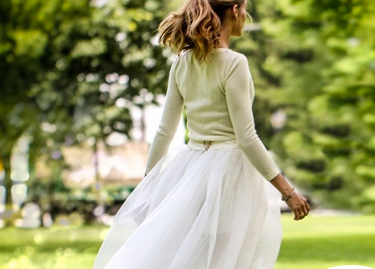 Olivia Palermo Is a Chic Bride in Shorts
