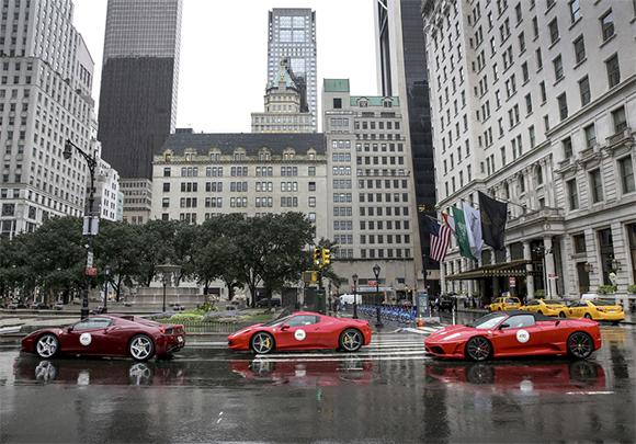 Ferrari celebrates its 60th anniversary in the United States