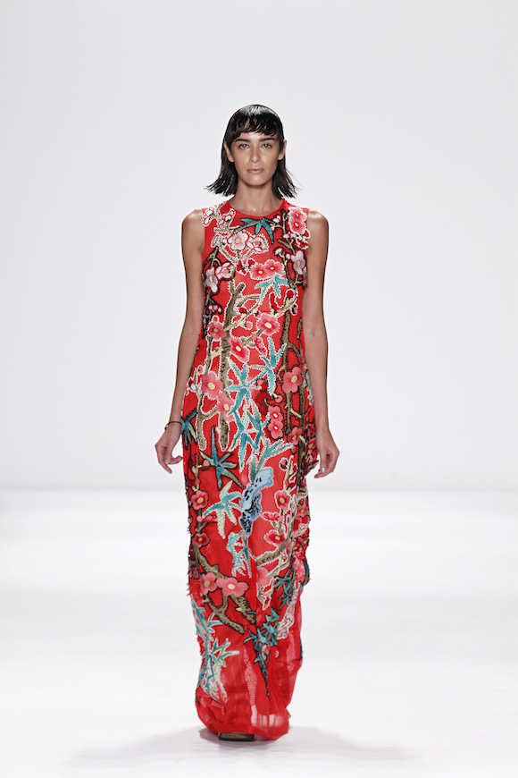Chinese Art Meets New York Fashion Week With Vivienne Tam ...