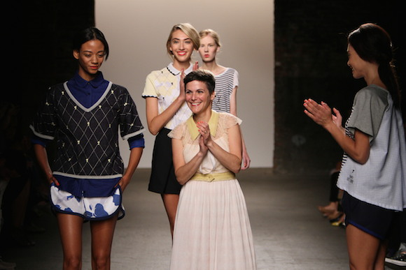 Katty Xiomara Smooths Out Fashion Week