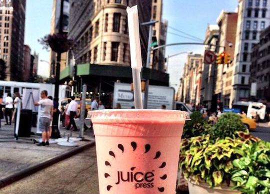 New Juice Press Comes to Downtown Manhattan
