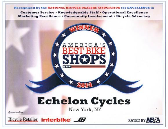 Echelon Cycles: NYC and America's Best Bike Shop