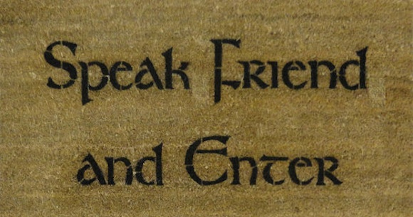 speak friend