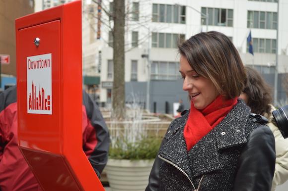 Downtown Alliance Unveils the Selfie Kiosk