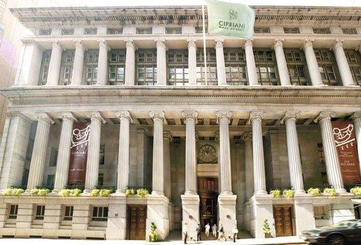 Cipriani Wall Street History