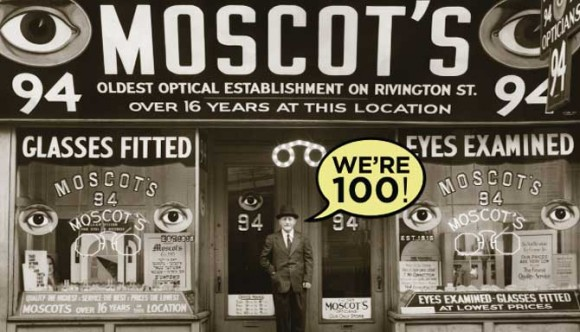 Moscot Turns 100!