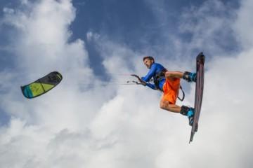 anguilla kite surfing