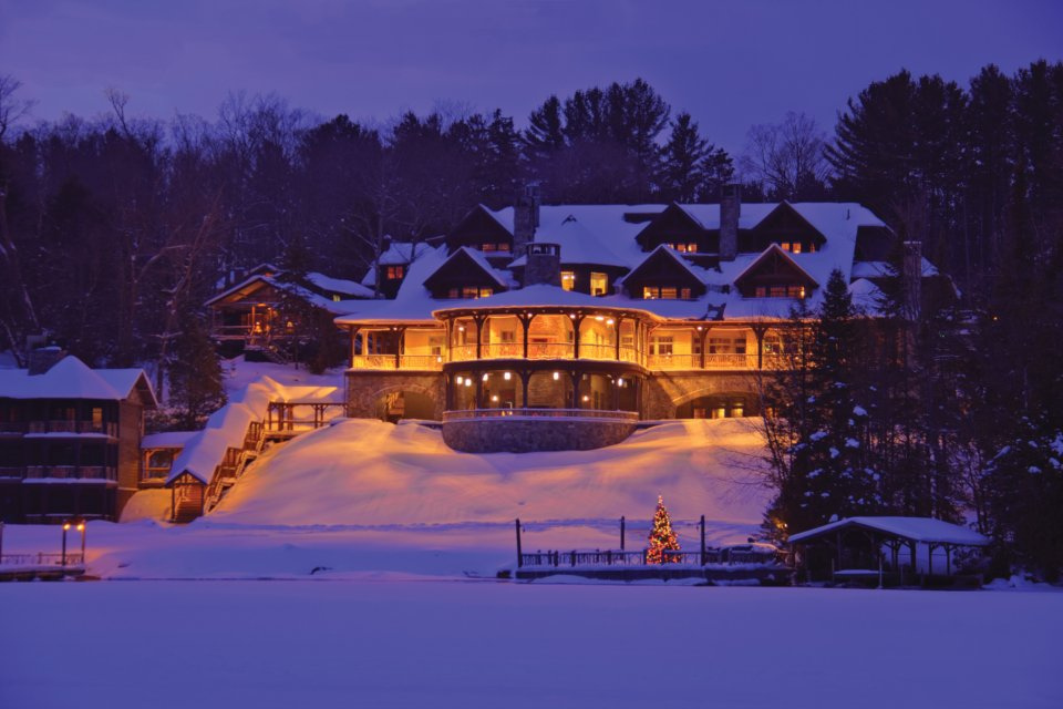 Lake Placid Lodge; Winter 2009
