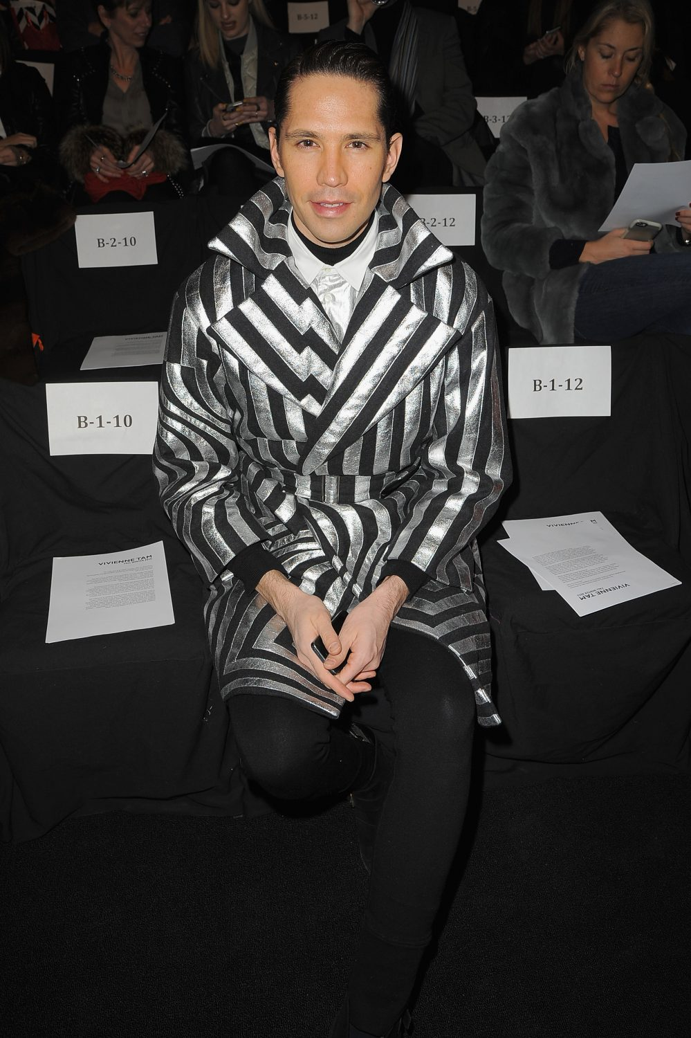 Vivienne Tam Fall 2015 Runway Show Front Row & Backstage