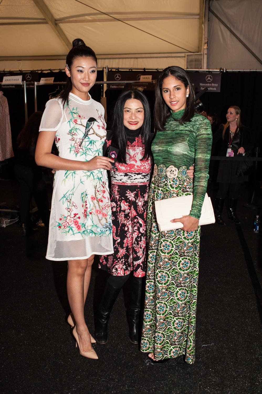 Karen Hu, Vivienne Tam, Thatiana Diaz - Steven B Ekerovich