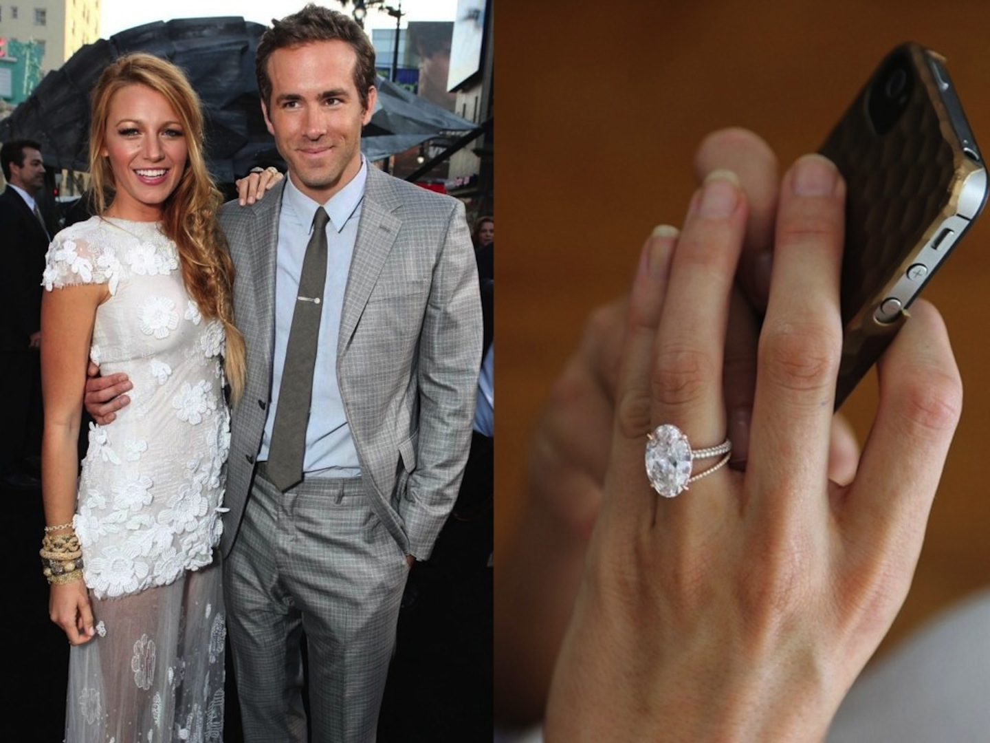 Best Celebrity Engagement Rings Downtown Magazine