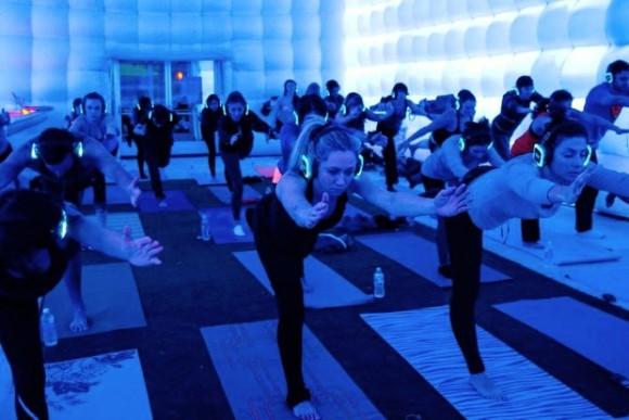 Photo: Courtesy of Sound Off Yoga