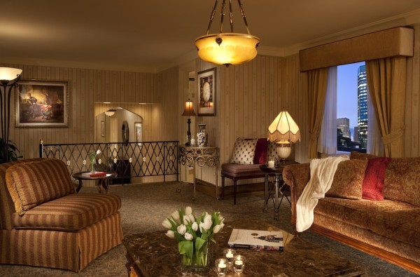 Presidential Suite Living Area copy