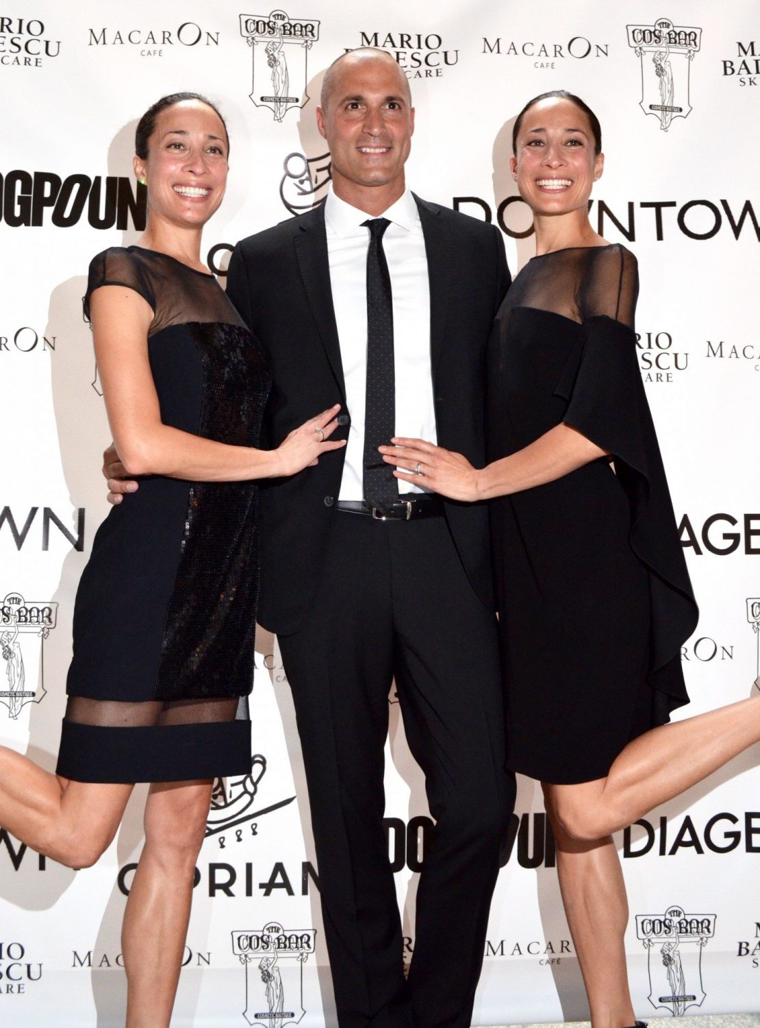 Nigel Barker, Crissy, and Kimmy