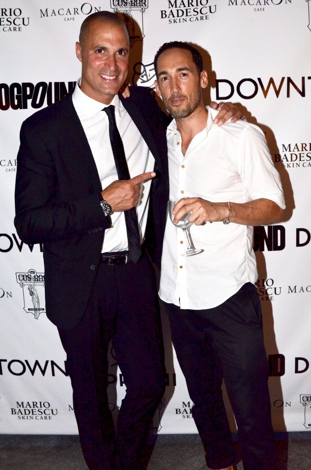 Nigel Barker and photographer Pete Thompson