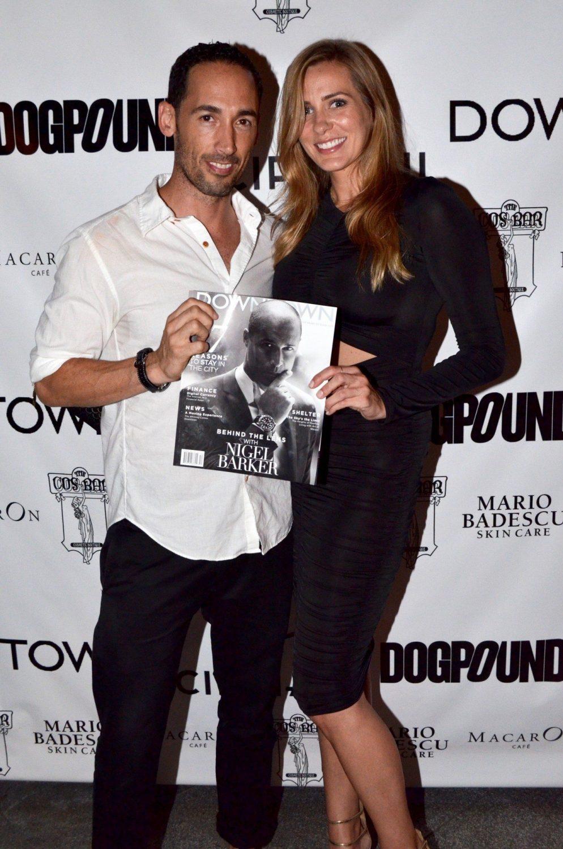 Pete Thompson and Stylist Rachel Wirkus