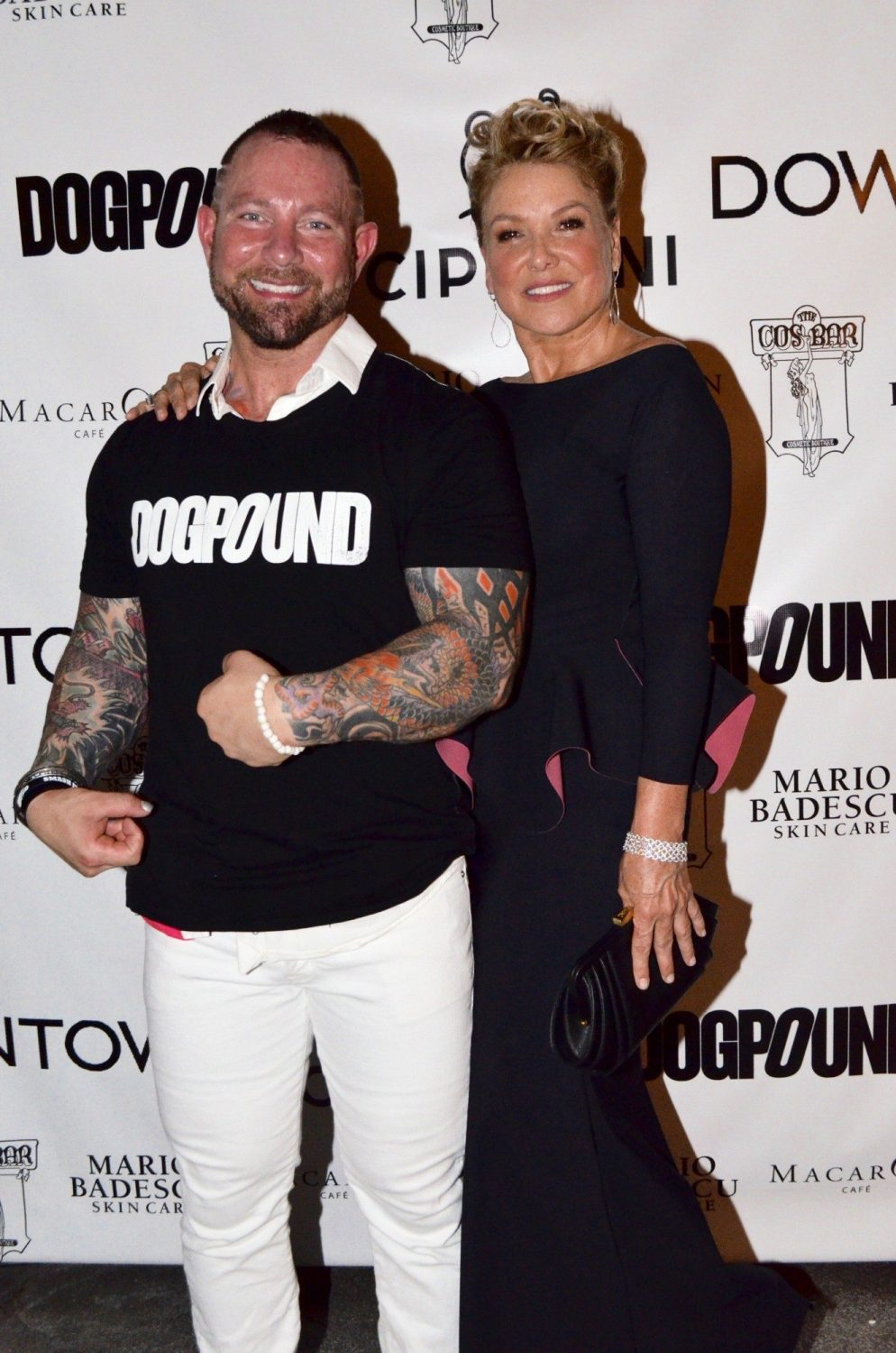 DogPound founder Kirk Myers and Grace A. Capobianco