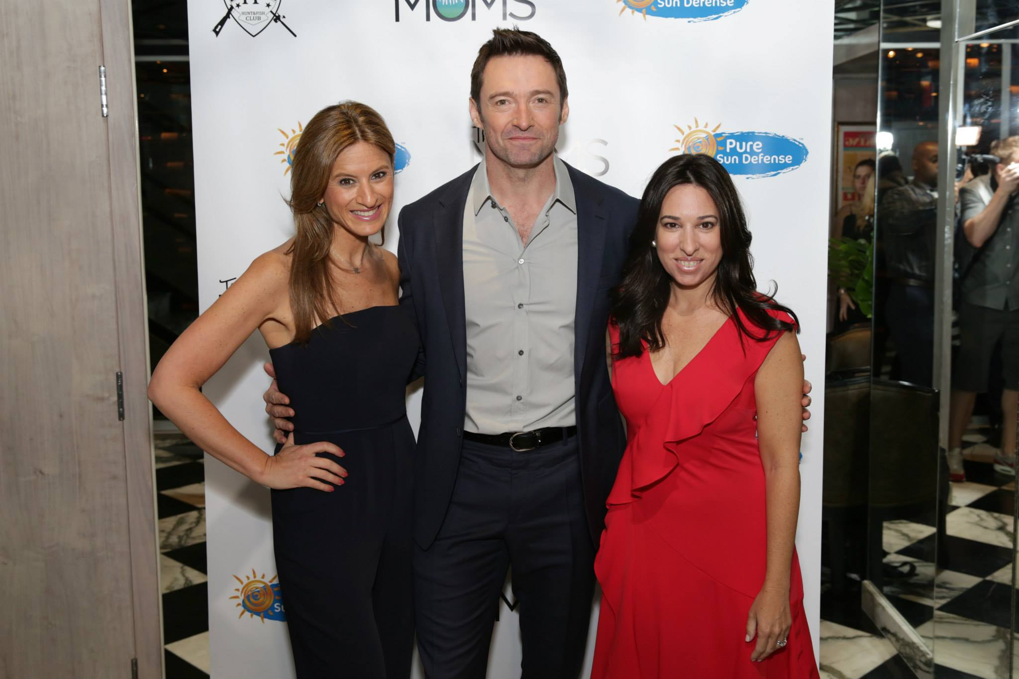 The MOM's Network Welcomes Hugh Jackman and Pure Sun Defense
