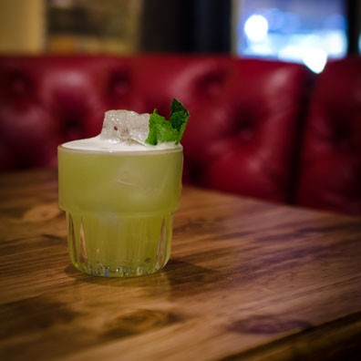 Joes Bar NYC Flash Gordon Breakfast Cocktail
