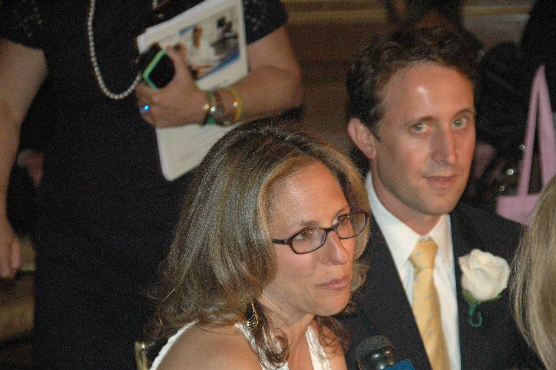 Burke Award recipients Brad and Jessica Berman. Photo: Courtesy of Haylie Born/Downtown Magazine