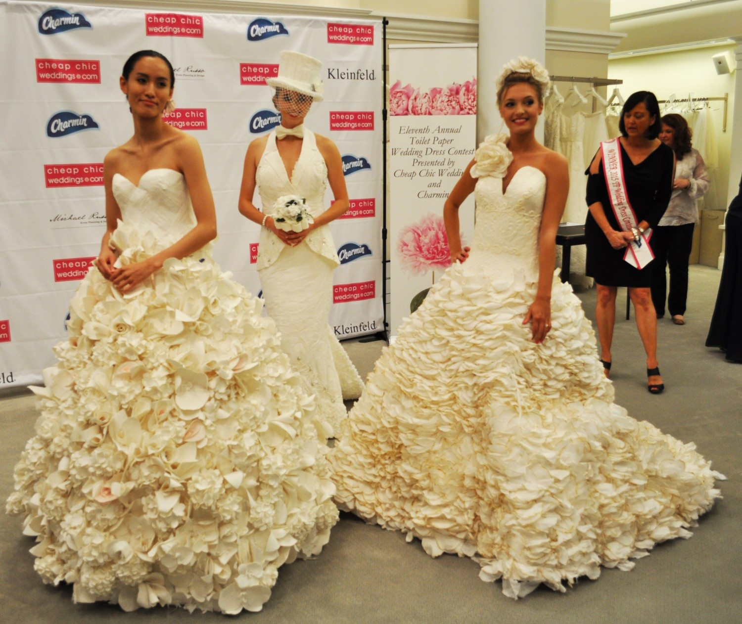 Cheap Chic Wedding Dress Winner Announced At Kleinfeld Bridal Downtown Magazine
