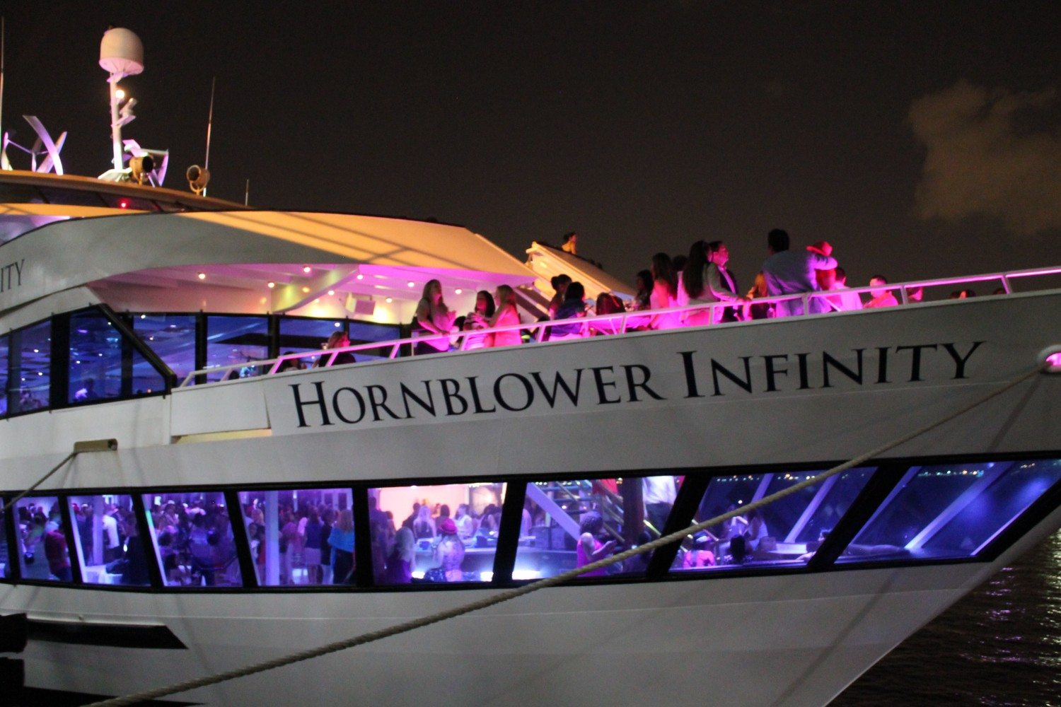 La Nuit En Rose Offered a Glamorous, Delicious Night On The Hudson