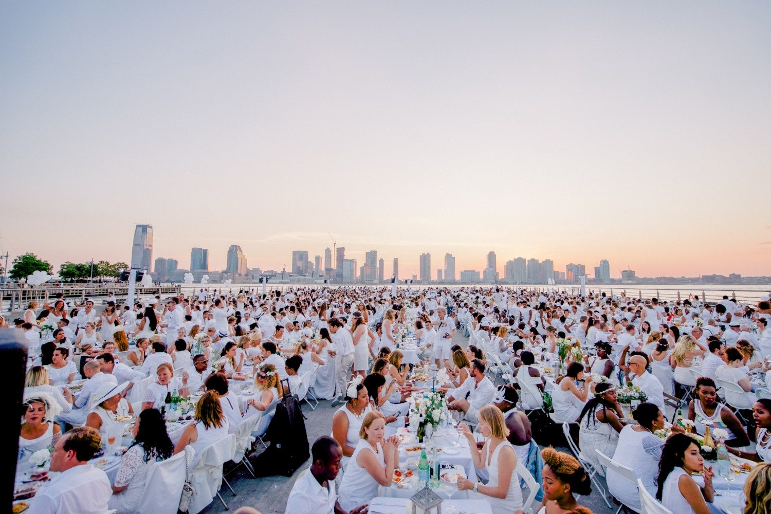 Le Diner En Blanc Comes To Baltimore Slow Down And Savor