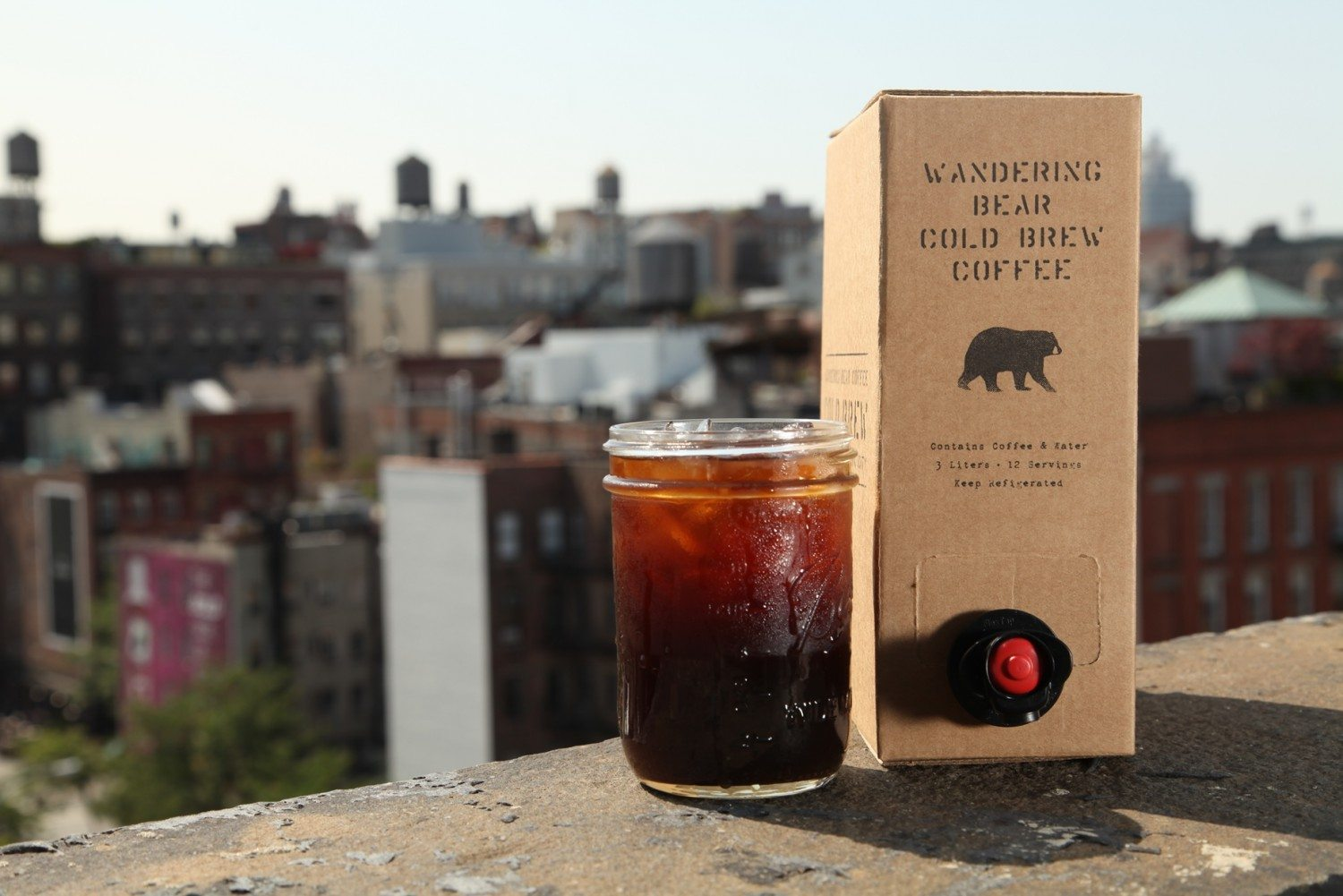 Downtown Drinks Wandering Bear Cold Brew