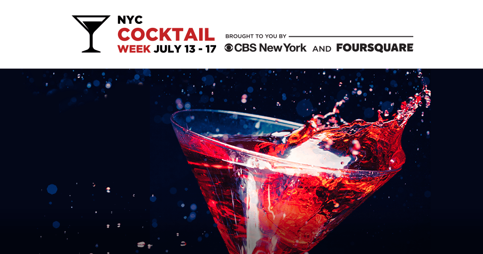 New York City Cocktail Week 2015. Photo courtesy of, http://www.nycocktailweek.com