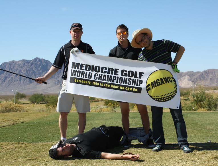 mediocre golf championship