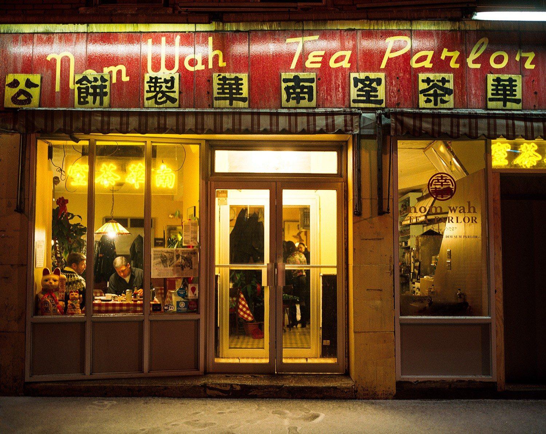 Nom Wah Tea Parlor Exterior, 2011.