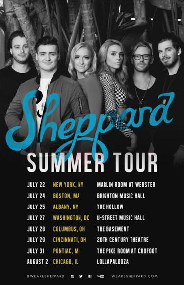 sheppard tour